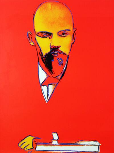 Andy Warhol, 'Red Lenin (FS II.403)', 1987