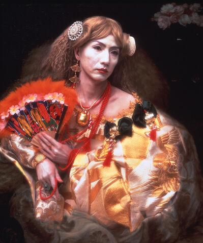 Yasumasa Morimura 森村 泰昌, 'Portrait (Fan)', 1991