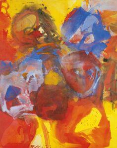 Josef Mikl, 'Conversation', 2003