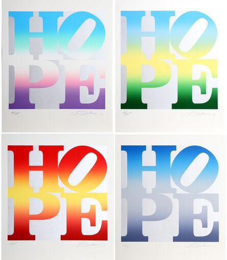 Robert Indiana, 'Four Seasons of Hope - Silver', 2012