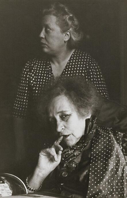 Henri Cartier-Bresson, 'Colette and Her Companion', 1952/1950s