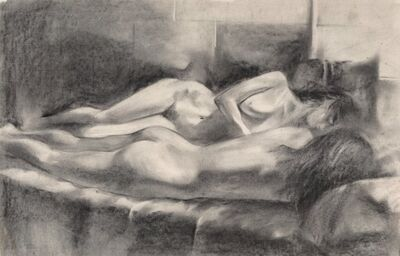 John Currin, 'Female Nudes', 1981
