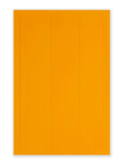 Jeff Kellar, 'Lined Space Orange 3', 2019
