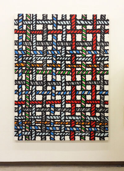 Richard Woods, 'Duckweave JM', 2015