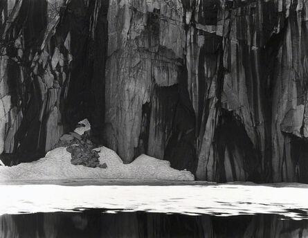 Ansel Adams, 'Frozen Lake and Cliffs, Kaweah Gap Sequoia National Park, California', 1927