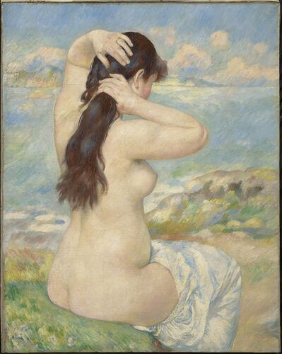 Pierre-Auguste Renoir, 'Bather Arranging Her Hair', 1885