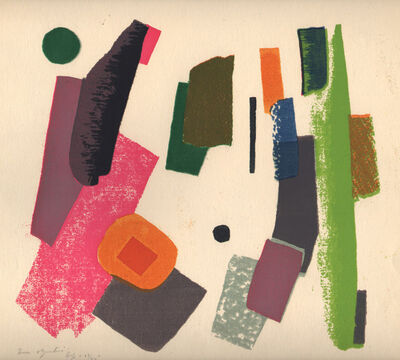 Morris Blackburn, 'Non-Objective', 1941