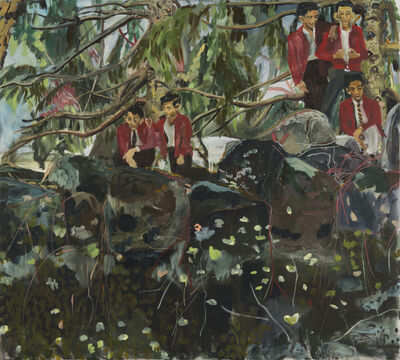 Maia Cruz Palileo, 'Against Trees, Under the Shade of Thickets', 2016
