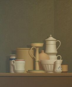 William Bailey, 'Still Life at Trovi', 1982
