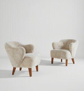 Flemming Lassen, 'Pair of armchairs', circa 1940
