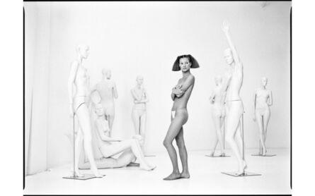 Patrick Demarchelier, 'Kate and Mannequins', 1992