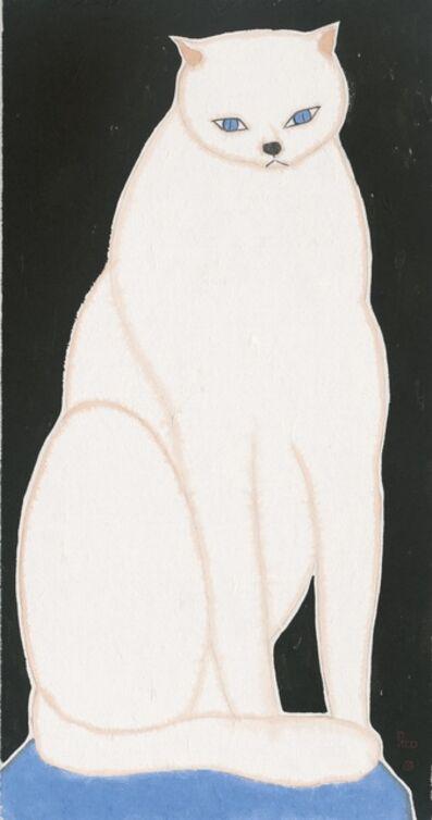 LIU QI 劉琦, 'White Cat 白石', 2019