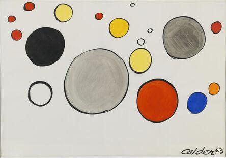 Alexander Calder, 'Coloured Bubbles ', 1963