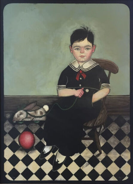 Joel Sager, 'Child, Seated with Toys', 2017