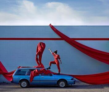 Ryan Schude, 'Adi Goodrich & her 1988 Chevy Cavalier, Glendale, California', ca. 2020