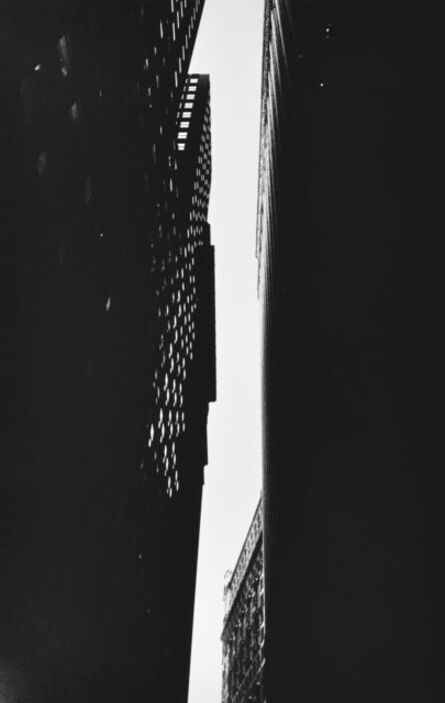 William Klein, 'Canyon Buildings, New York', 1954-1955