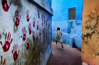 Steve McCurry, 'Boy in Mid-Flight, India', 2007