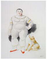 Fernando Botero, 'Trapezista Com Cachorro'