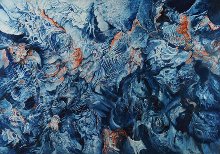 Hyman Bloom, 'Seascape IV (First Series)', 1975