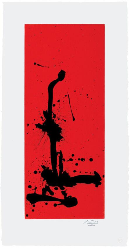Robert Motherwell, 'Red Sea III', 1983