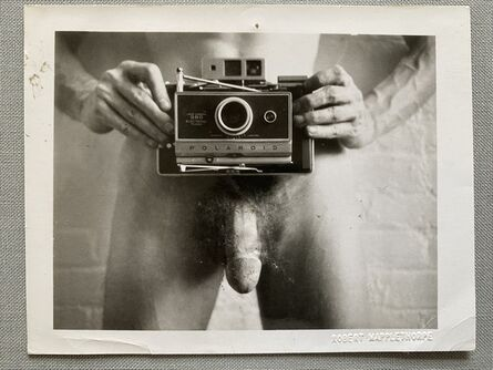 "Robert Mapplethorpe, '""Self Portrait""', 1973"