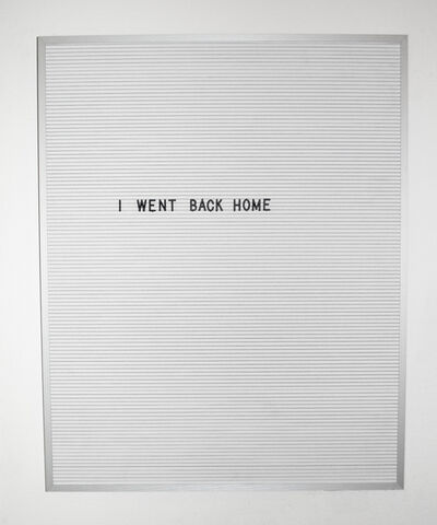 Nicole Reber, 'Vacation', 2016