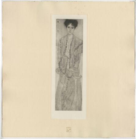 Gustav Klimt, 'Portrait of Gertha Felsövanyi (Frau G. Eissler von Terramare) [Das Werk Gustav Klimts]', 1914