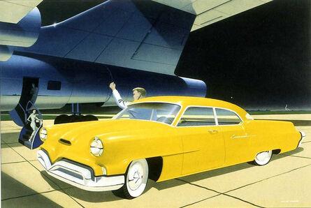 A. G. Spear Jr., 'Mercury Carnival Allan Phillips', 1952