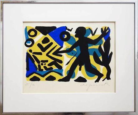 A.R. Penck, 'Zivilisation', 2000