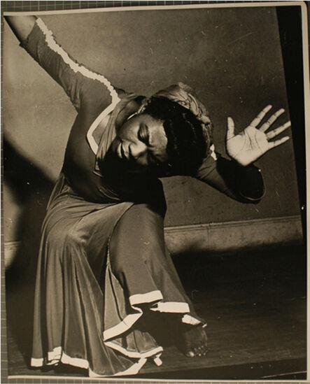 Lisette Model, 'Pearl Primus, New York ', 1943