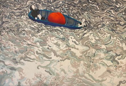 MacKenzie Thorpe, 'Love on the Water ', 2018