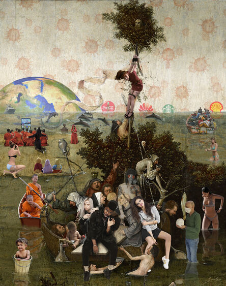 Lluis Barba, 'Ship of Fools. Hieronymus Bosch', 2020
