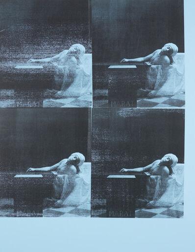 Gavin Turk, 'Marat Pale Blue', 2016