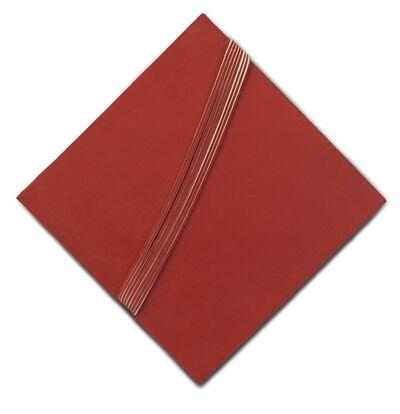 Luciano Figueiredo, 'Espaço-laço, série vermelho n.4', 2011