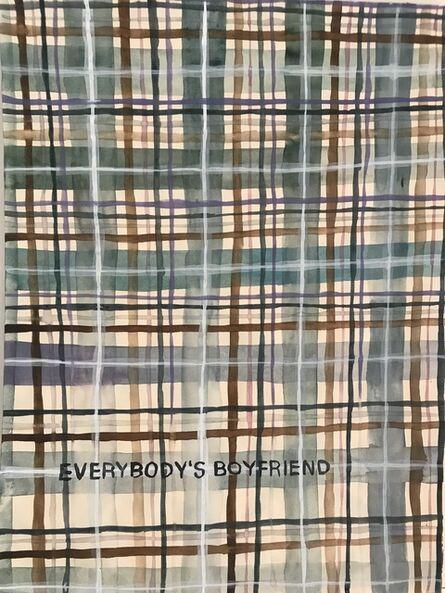 Julia Kuhl, 'Domestic Textile Series, Boyfriend', 2017