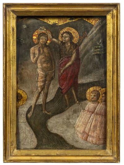 Borghese di Piero, 'Baptism of Christ', ca. 1450