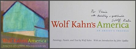 Wolf Kahn, 'Wolf Kahn's America (Hand signed and inscribed)', 2003