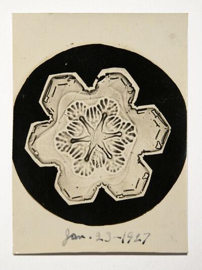 Wilson A. Bentley, 'Snowflake', 1927