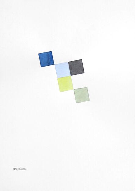 "Krišs Salmanis, '""Parus caeruleus"" (Blue Tit)', 2014"