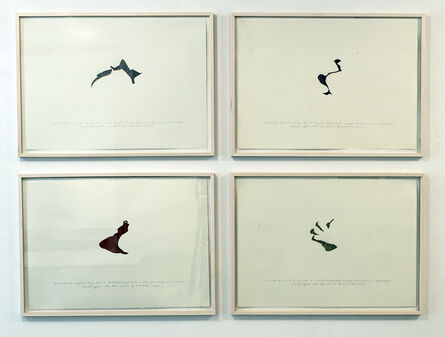 Pavel Büchler, 'Four Short Stories (Traced again)', 2003