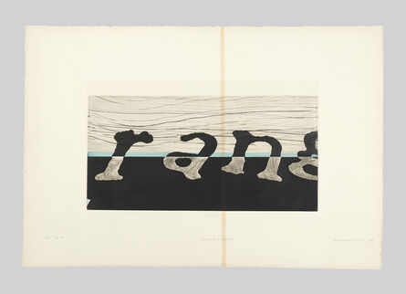 Richard Tuttle, 'Light on Water (A)', 2003