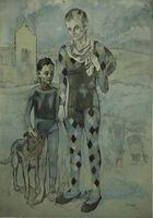 Pablo Picasso, 'Les Saltimbanques', 1905-1922