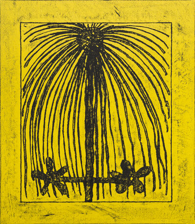"""Matt Mullican, '""""Untitled (Learning from that person's work: morning, yellow)"""",', 2009"""