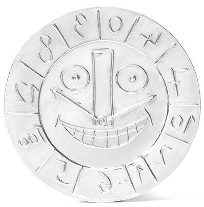 Pablo Picasso, 'Visage en forme d'Horloge', 1956-1967