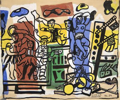 Fernand Léger, 'Etude Pour La Grande Parade', 1952