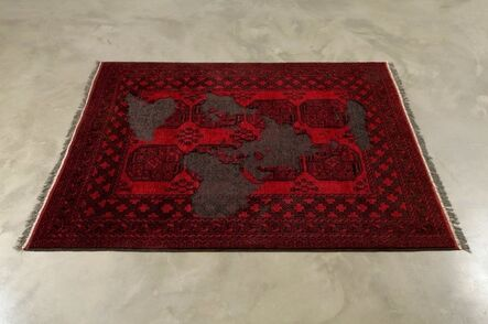 Mona Hatoum, 'Afghan (black and red)', 2009