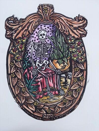 Miriam Cullen, 'Minnie Loves To Garden', 2021