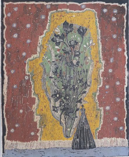 Tohko Izumi, 'To the flowers behind the curtain', 2021