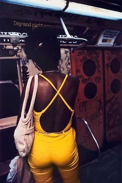 Bruce Davidson, 'Untitled, Subway, New York, [Yellow pants]', early 1980s