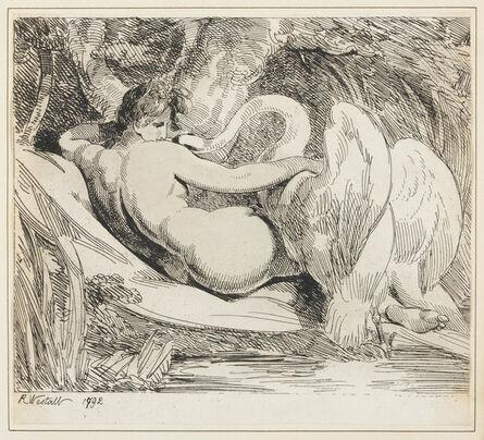 Richard Westall, 'Leda and the Swan', 1792